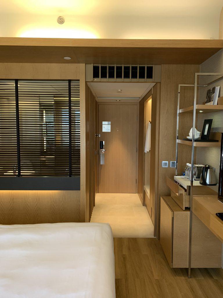 Renaissance Hong Kong Harbour View Hotel-浴室在房間門口隔鄰