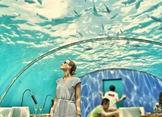 ITHAA Unterwasserrestaurant