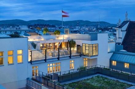 Das Park Hyatt Vienna beheimatet die größte Suite Österreichs (820 m2).