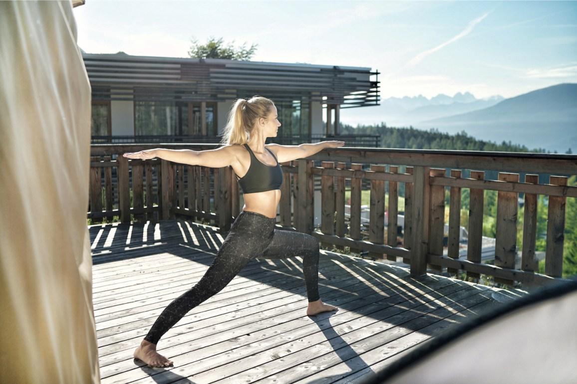 ... oder Outdoor-Yoga