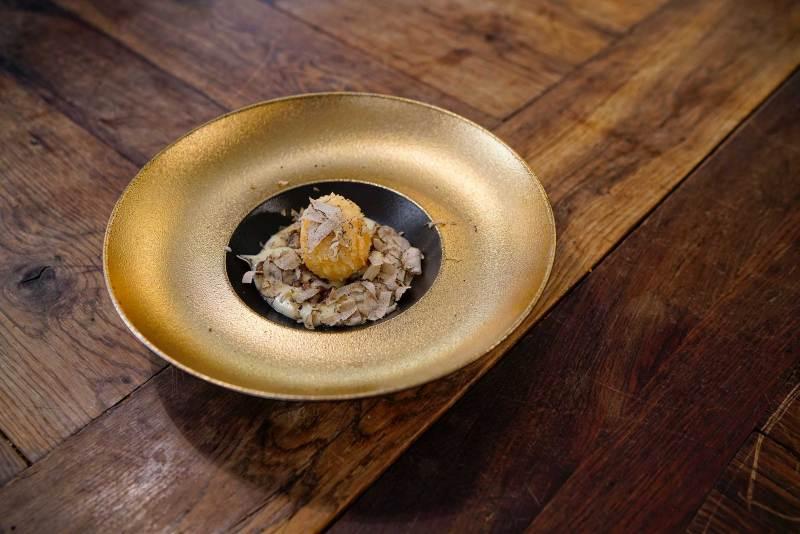 Trüffelsuche in Istrien: Das perfekte Trüffel-Ei