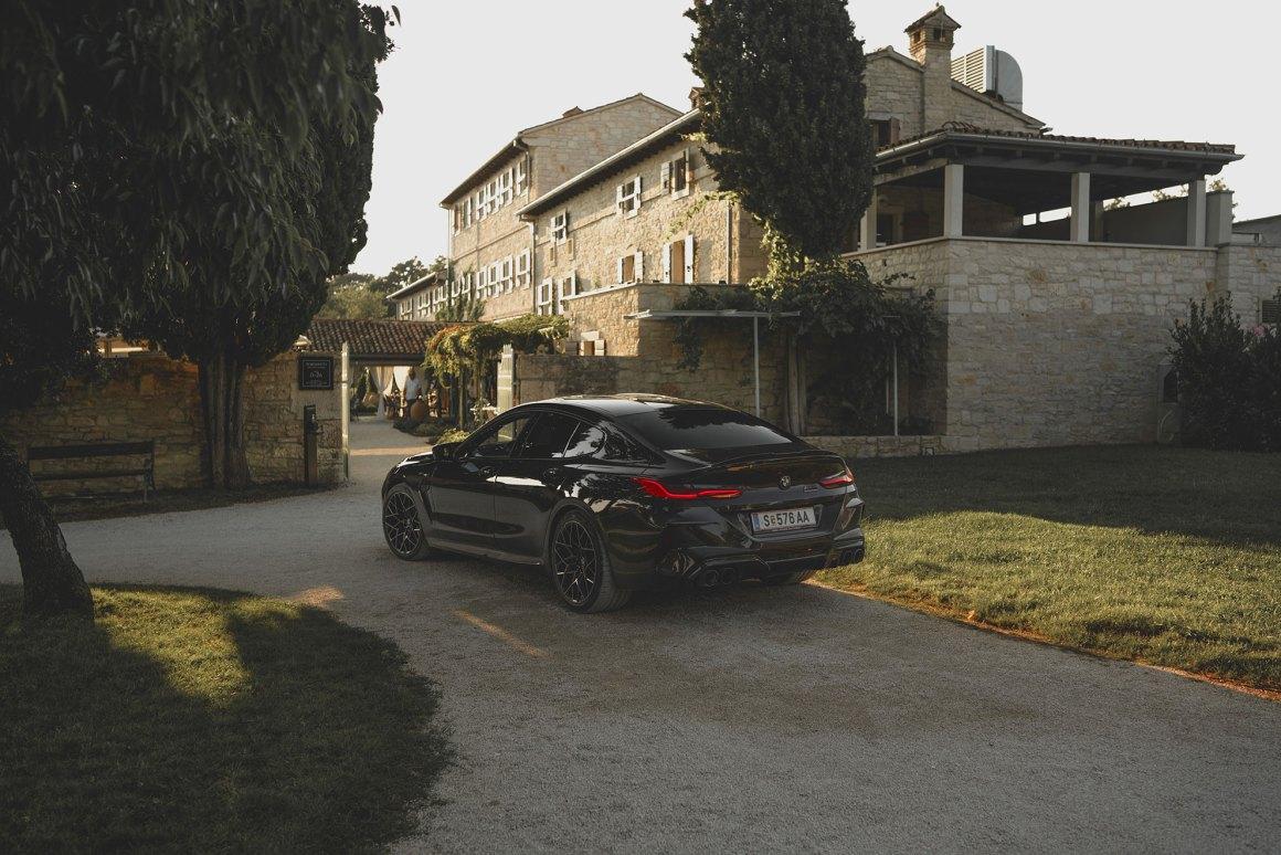 Sommerausflug nach Istrien mit dem BMW M8 Gran Coupé