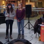 Two performers speak at Musicthon 2018