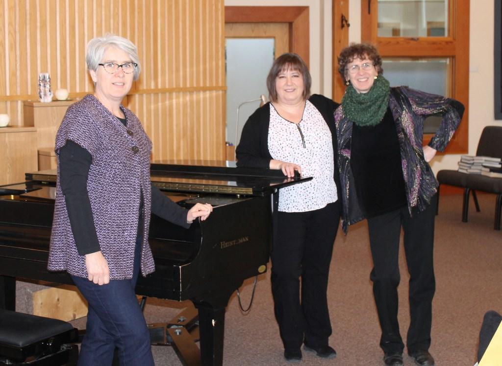 Tricia Reimer, Lee Houghton Stewart, Leanne Hiebert