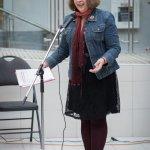 A teacher speaking at Musicthon 2020