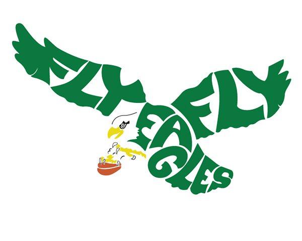 Philadelphia Eagles Old Logo Coloring Page