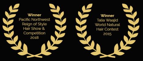 Mr. Naturalz Salon awards