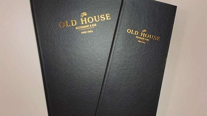 Old House Menu Folders