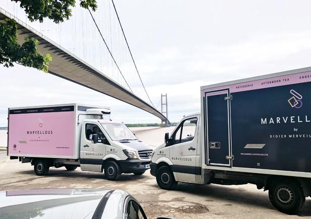 Marvellous Vehicle Branding