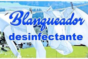 Blanqueador desinfectante