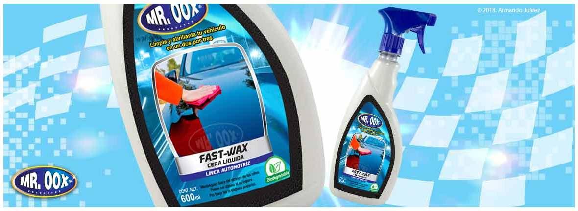 Cera líquida automotriz Fast-wax