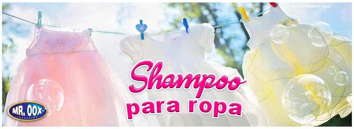 Shampoo para ropa