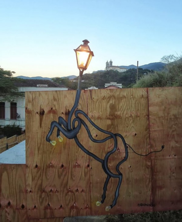 ANONIMUNDO, Brazil, imaginative street art, graffiti art, street artists, urban murals, urban art, mr pilgrim art.