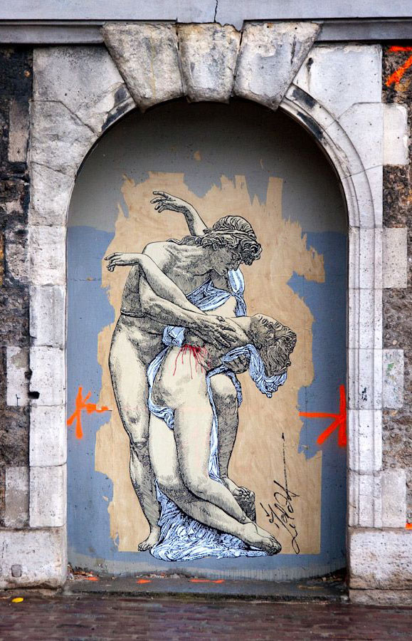 Zilda, Paris, France, graffiti art, street artists, urban murals, urban art, mr pilgrim art.