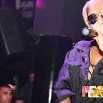 R&B Singer Keri Hilson Performs Live at People