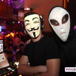 Club Republique Goes Back in Time for Halloween Party