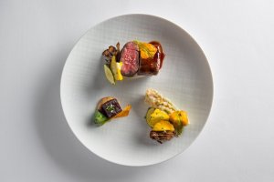 Beef Tenderloin Medallion with Squash