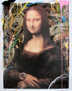 1.Mona Lisa Hublot by Mr Brainwash