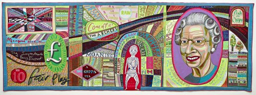 Grayson Perry tapestry Comfort Blanket, 2014