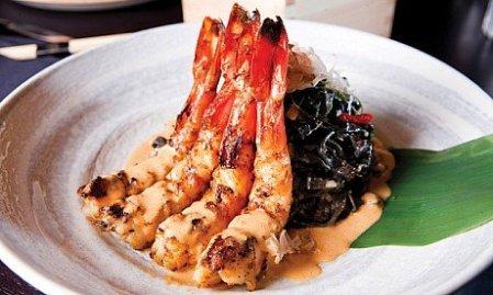 China Grill shrimps