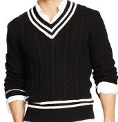 Ralph Lauren Cotton Blend Cricket Sweater