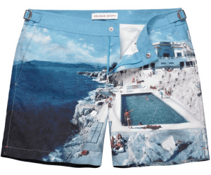 Orlebar Brown Roc Pool Photographic Mid-Length Swim Short