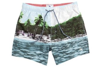 Ted Baker Lakely Tropical Print Swim Shorts