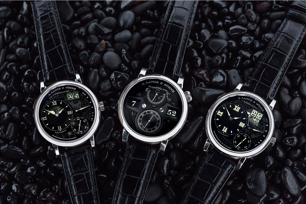 "A. Lange & Söhne's three ""Lumen"" models"