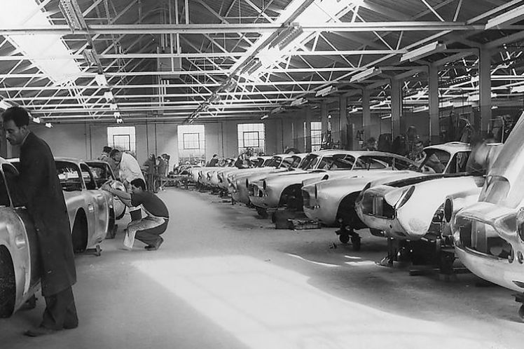 Aston Martin DB4 G.T. manuf