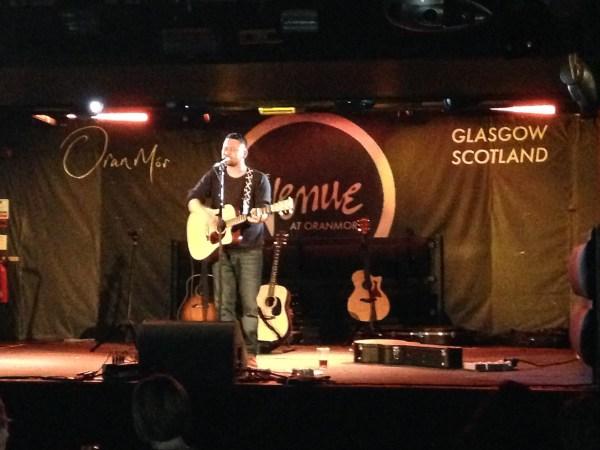Little Fire album launch – Oran Mor Glasgow 05 Dec 14