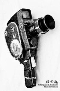 Quarz (Quartz) Vintage USSR Windup Cine Camera
