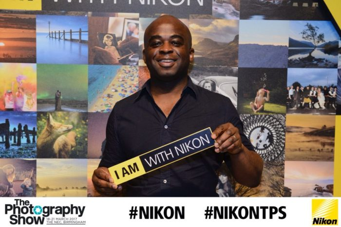 MrPKalu with Nikon at the Photography Show 2017 NEC Birmingham