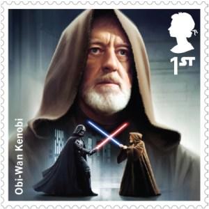 Obi Wan Kenobi Royal Mail Stamp