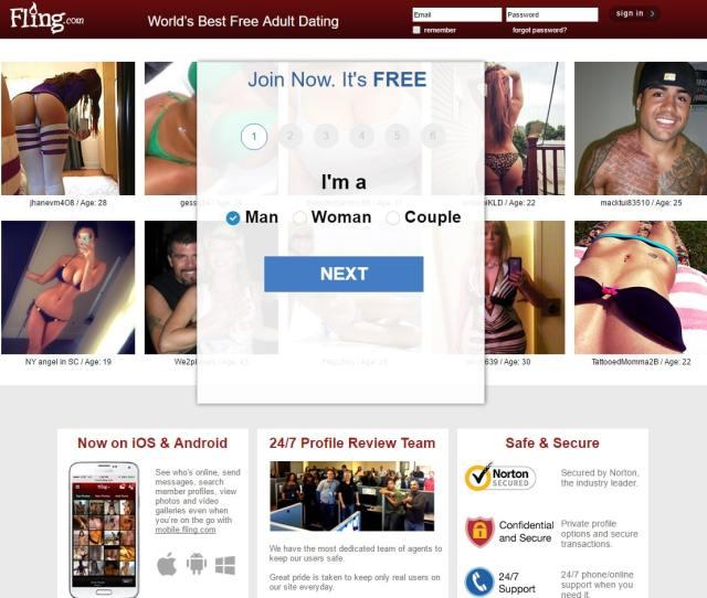Sex Dating Sites Fling
