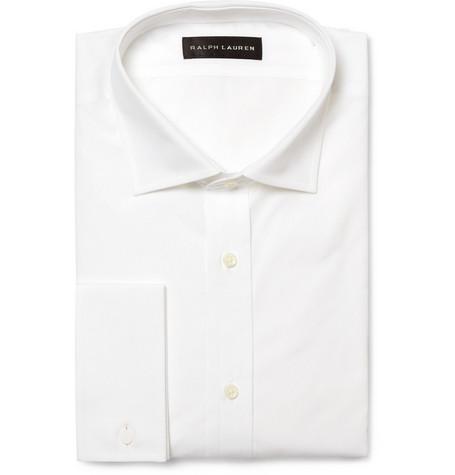 Ralph Lauren Black Label Double Cuff Cotton Shirt