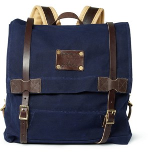 Woolrich Leather and Canvas Backpack £340