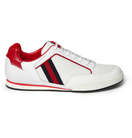 GucciLeather Tennis Shoes