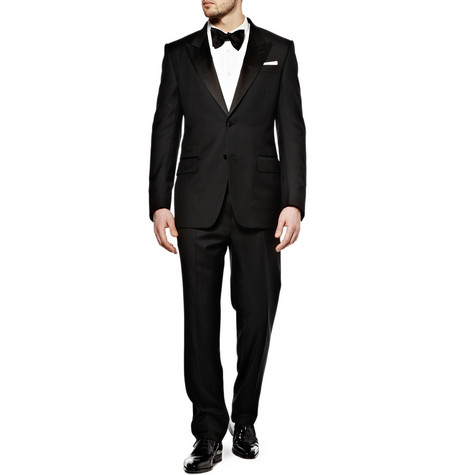 Yves Saint Laurent Single-Breasted Tuxedo