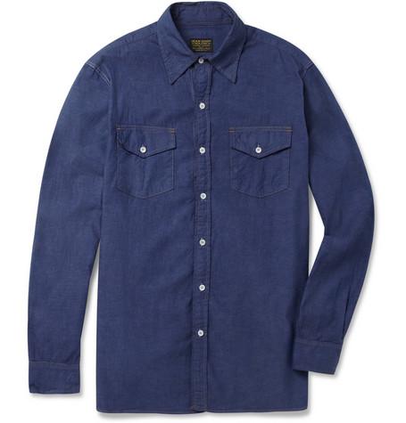 Jean ShopCotton-Chambray Shirt