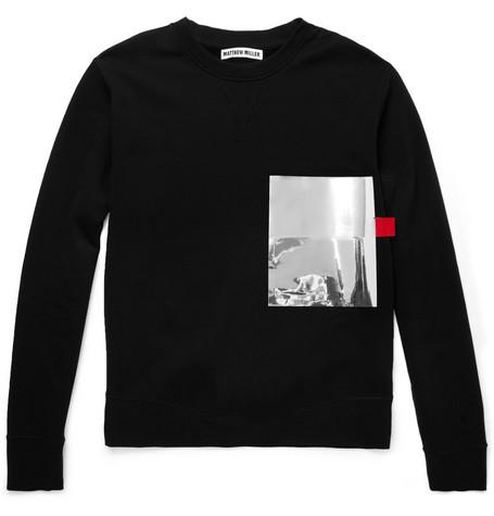 Matthew MillerMatthew Miller Foil-Pocket Cotton-Jersey Sweatshirt
