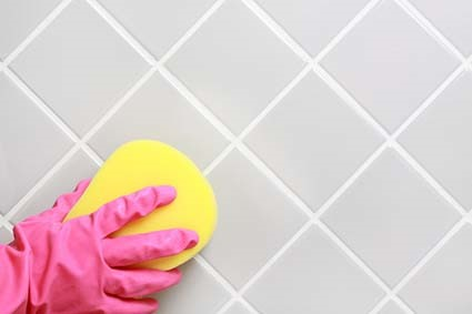 Tips for cleaning bathroom tiles