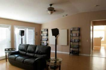 placement of surround speakers for home theatre