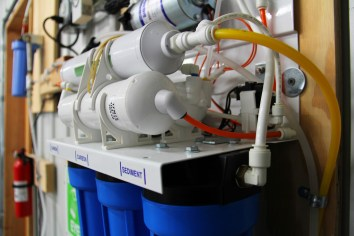 Reverse Osmosis system for clean drinking water