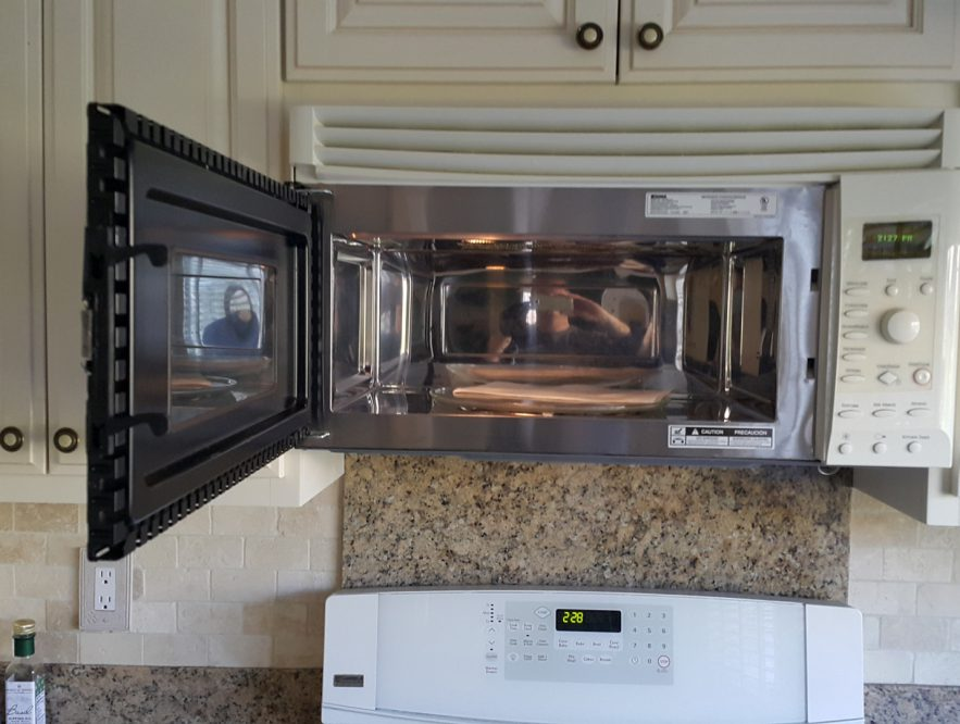 microwave stopped working no power