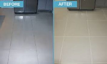 treat stained paint on your floor tiles