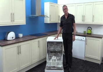 Portable free-standing dishwashers