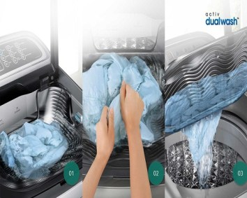 Active Wash+ system,