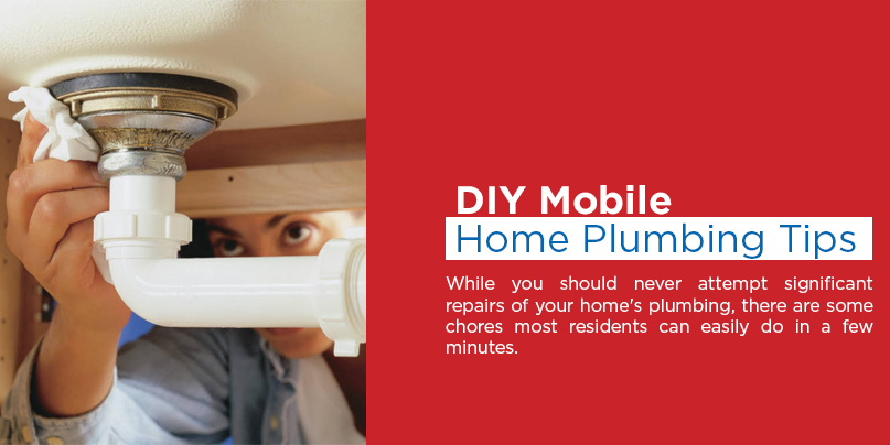 mobile home plumbing problems