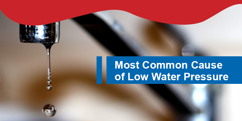 what causes low water pressure