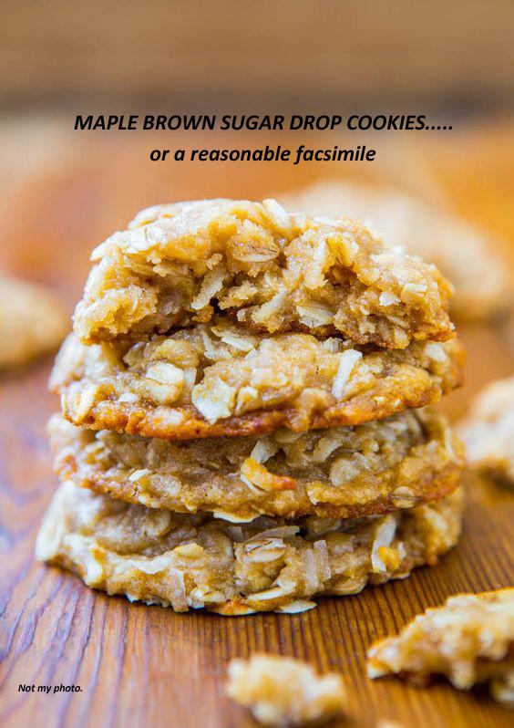 A Primal Scream and Maple Brown Sugar Drop Cookies – Part 2